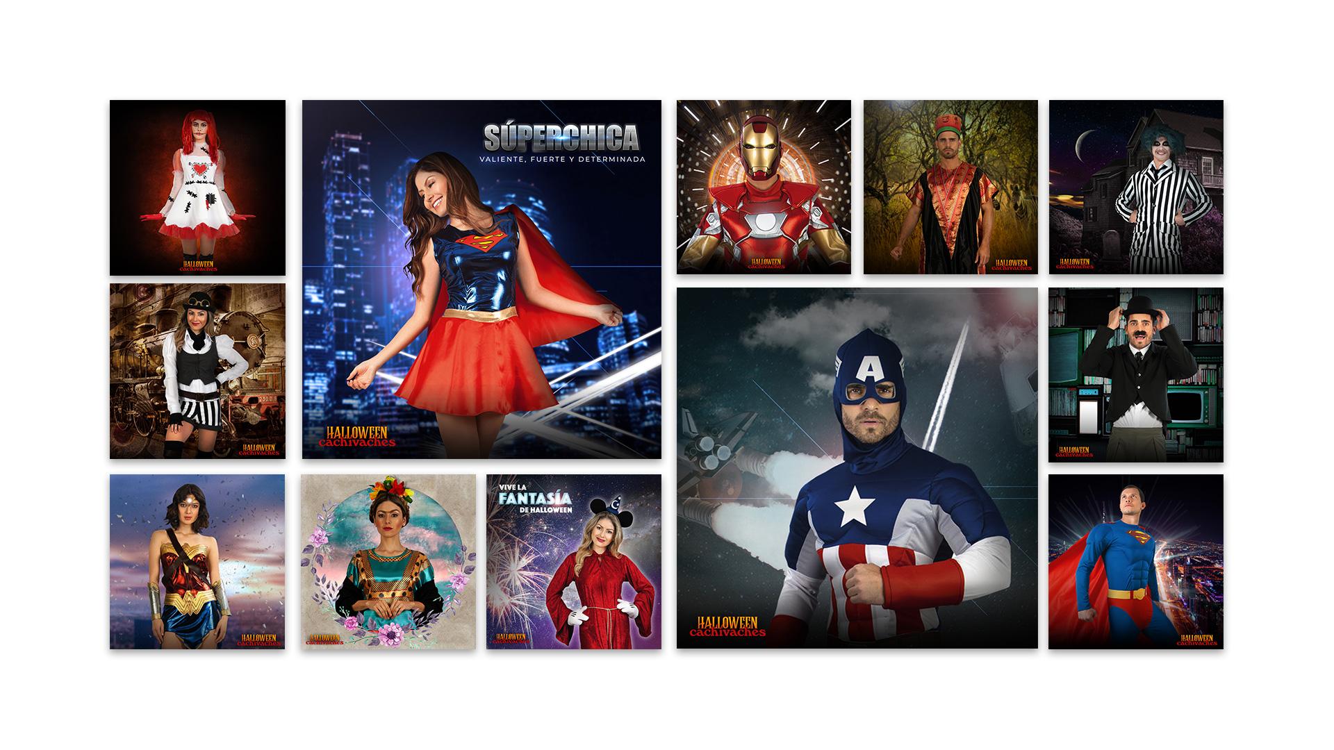 CACHIVACHES-COSTUMES-HALLOWEEN-SOCIAL-MEDIA-SUPER-HERO-SEASON-ADWORDS-FACEBOOK-INSTAGRAM