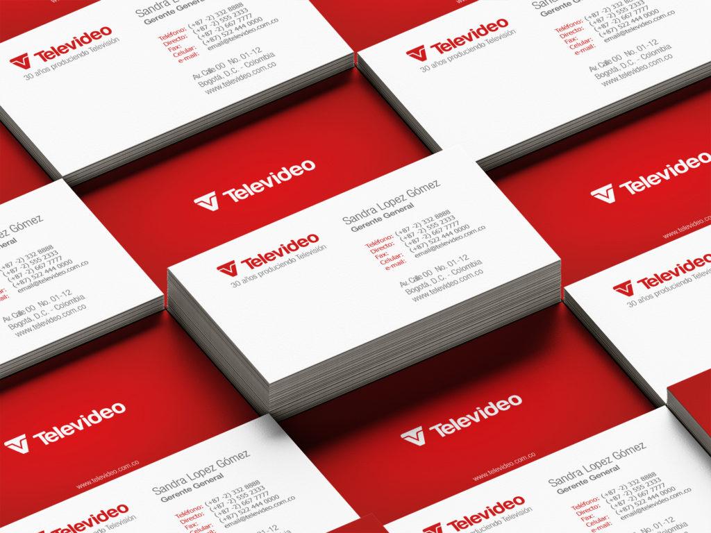 Televideo-television-brand-communications-logo-businesscard-brochure-branding